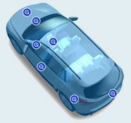 Product Navigator of automobile Image
